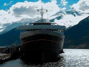 Alaska Marine Highway Malaspina Specialty Cruise Ship
