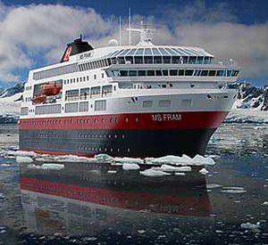 Hurtigruten Fram Specialty Cruise Ship
