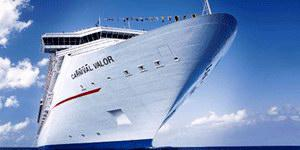 Carnival Cruise Lines Carnival Valor Mainstream Cruise Ship