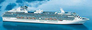 Princess Cruises Island Princess Mainstream Cruise Ship