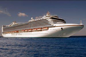 Princess Cruises Caribbean Princess Mainstream Cruise Ship
