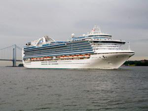 Princess Cruises Crown Princess Mainstream Cruise Ship