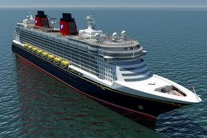 Disney Cruise Line Disney Dream Mainstream Cruise Ship