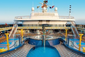 Costa Cruise Lines Costa Mediterranea Mainstream Cruise Ship