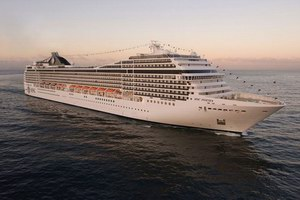 MSC Cruises MSC Poesia Mainstream Cruise Ship