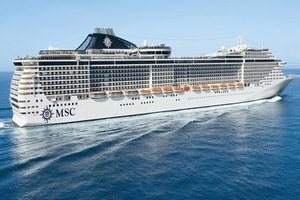 MSC Cruises MSC Fantasia Mainstream Cruise Ship