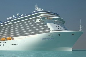Princess Cruises Royal Princess Mainstream Cruise Ship