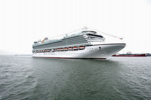 P&O Cruises Azura Mainstream Cruise Ship