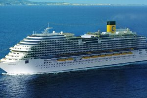 Costa Cruise Lines Costa Diadema Mainstream Cruise Ship