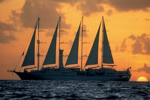 Windstar Cruises Wind Spirit Luxury Cruise Ship