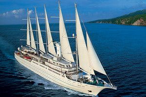 Windstar Cruises Wind Surf Luxury Cruise Ship