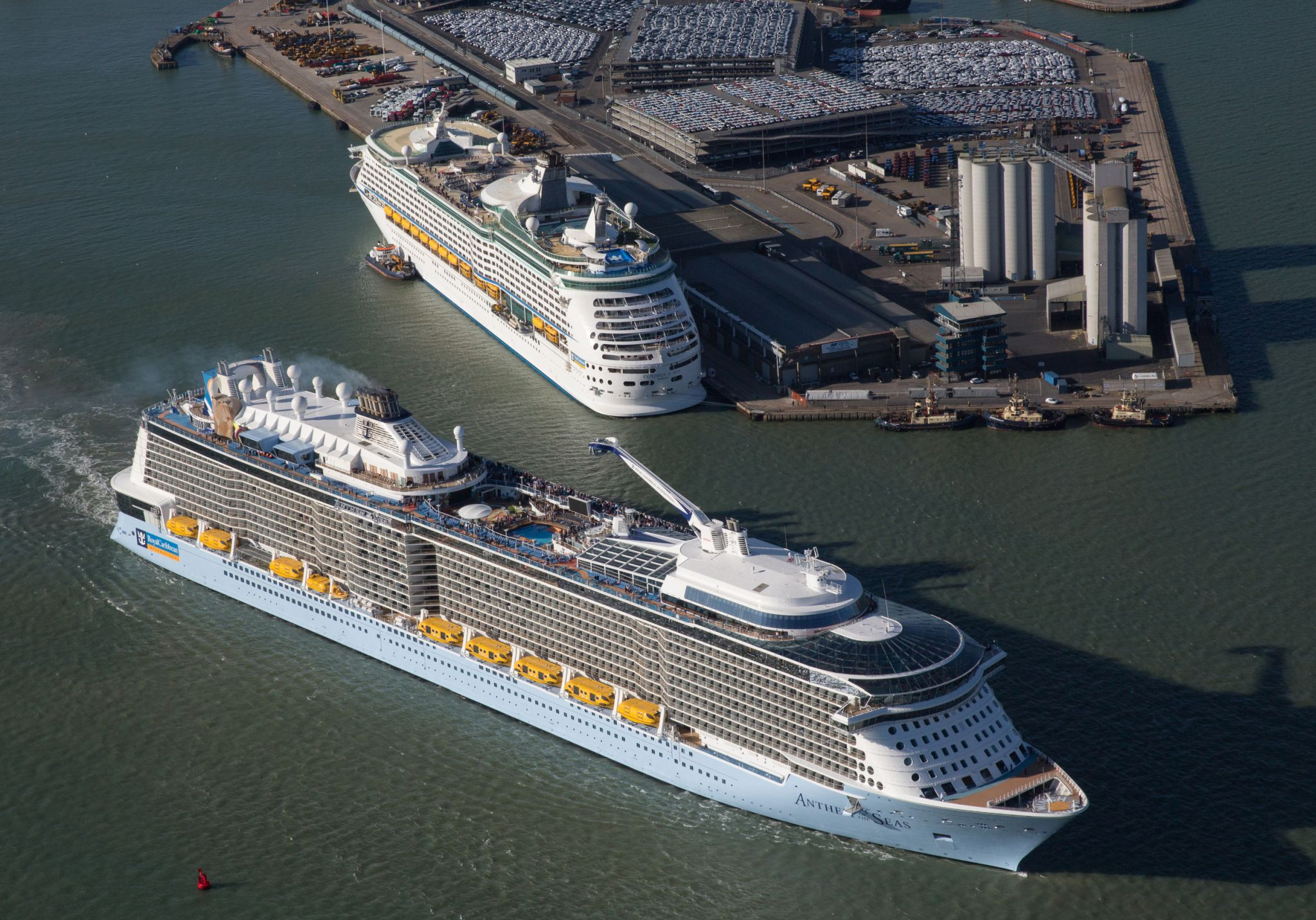 Anthem Of The Seas Ship Stats Information Royal Caribbean