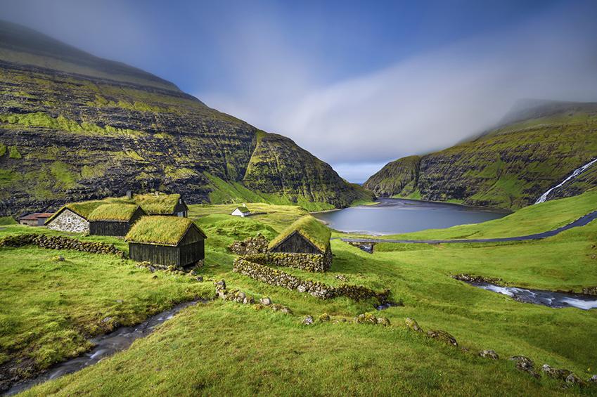 Saksun Streymoy Island Faroe Islands